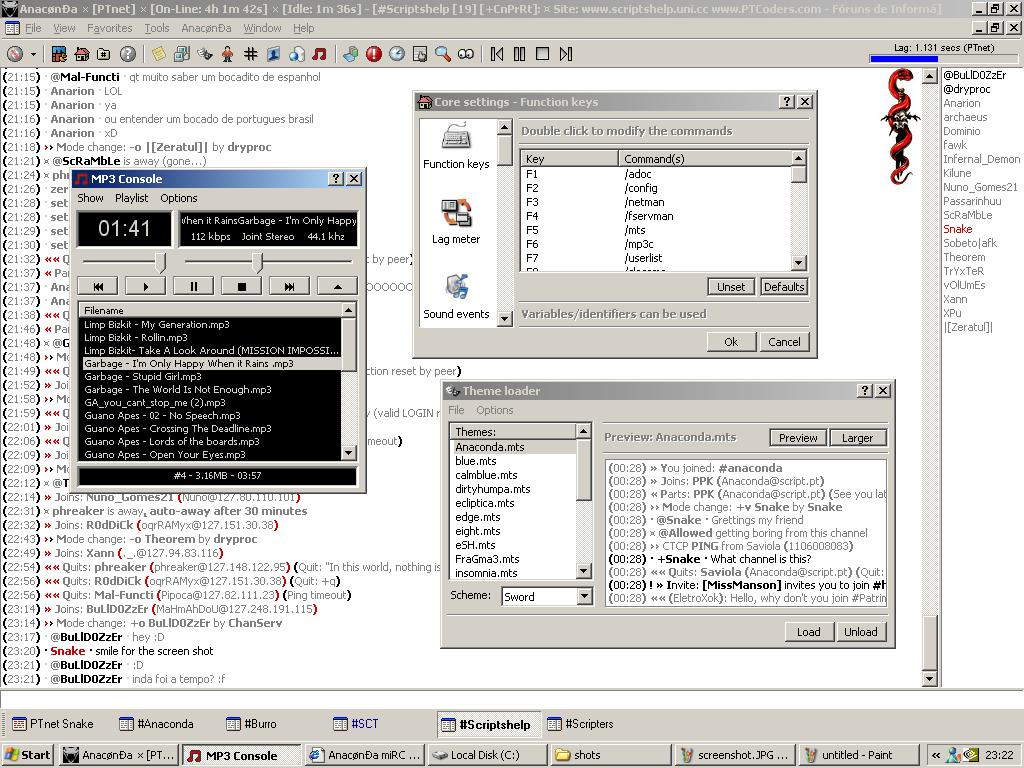 TechGear007 - File Database Scripts Full (IRC)